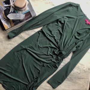 Catherine Malandrino Green Dress